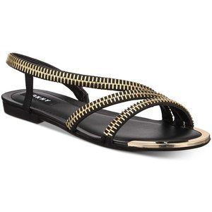 NWB DKNY Women's KHLOI Flat Sandals